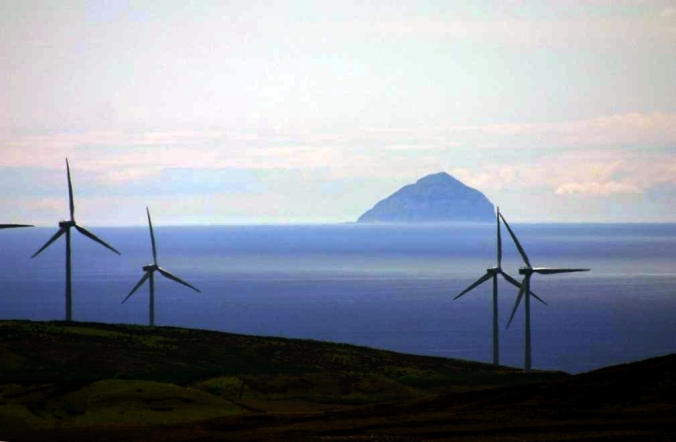 Windmills_and_Ailsa_Craig_aka_Paddy's_Milestone_rotated